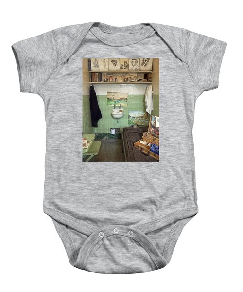 Alcatraz Artist's Cell Baby Onesie