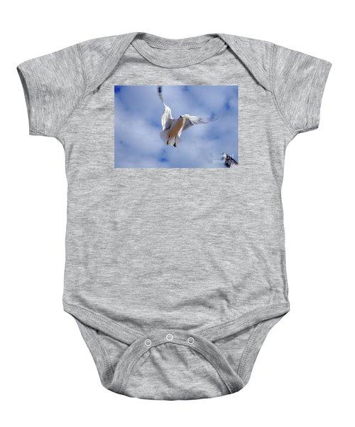 Applying Brakes In Flight Baby Onesie