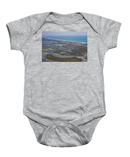 Atlantic Beach Beaufort Aerial Baby Onesie