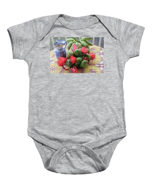Avocado Time Baby Onesie