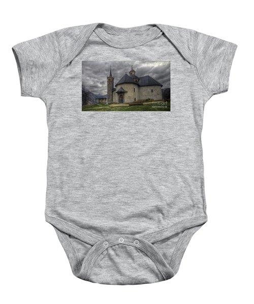 Baroque Church In Savoire France 6 Baby Onesie