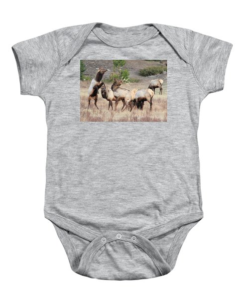 Boxing Match Baby Onesie