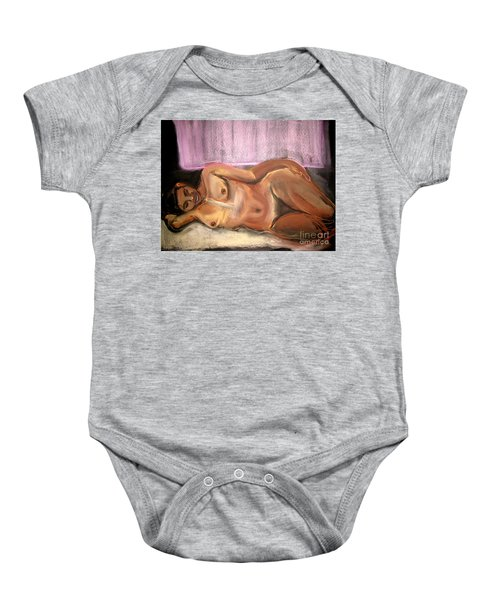 Burning Dream Baby Onesie