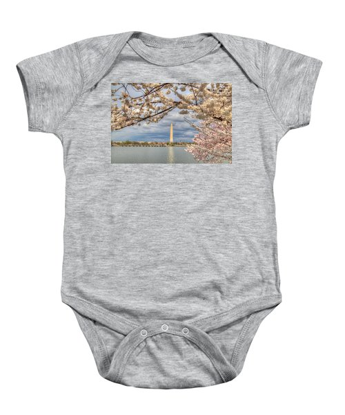 Cherry Blossoms Washington Dc 4 Baby Onesie
