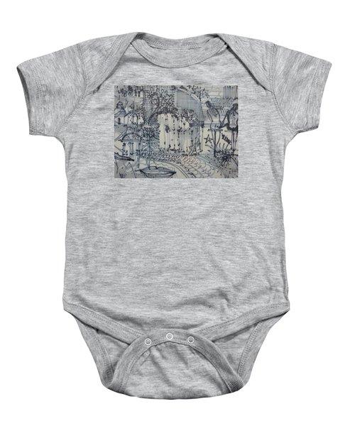 City Doodle Baby Onesie