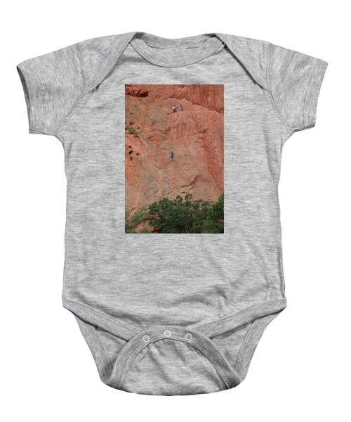 Coming Down The Mountain Baby Onesie