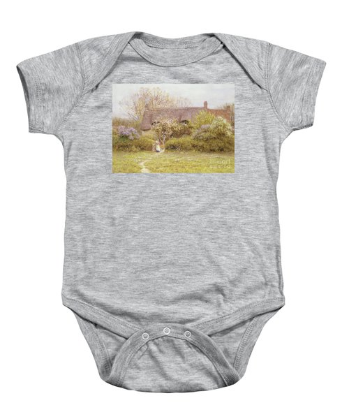 Cottage Freshwater Isle Of Wight Baby Onesie