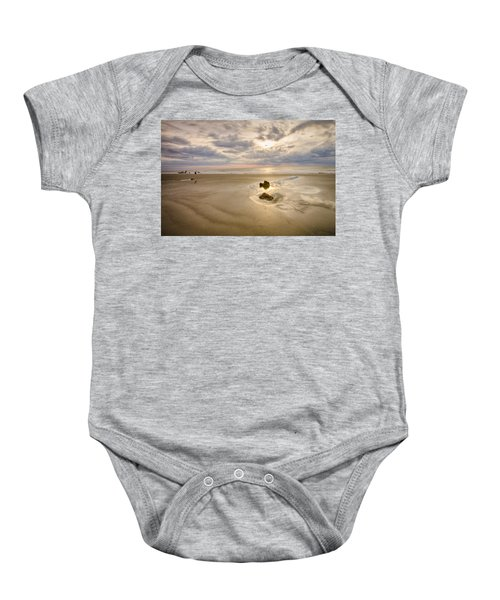 Debris On The Beach - Hunting Island Sc Baby Onesie