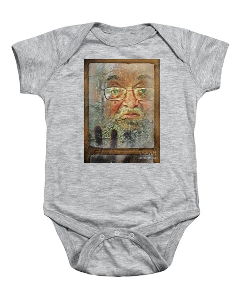 Don't You See Me?  I'm Here. .  Baby Onesie