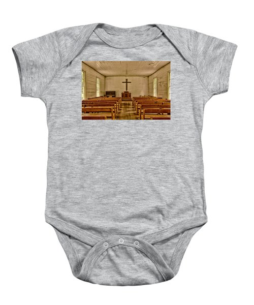 Down The Aisle Baby Onesie