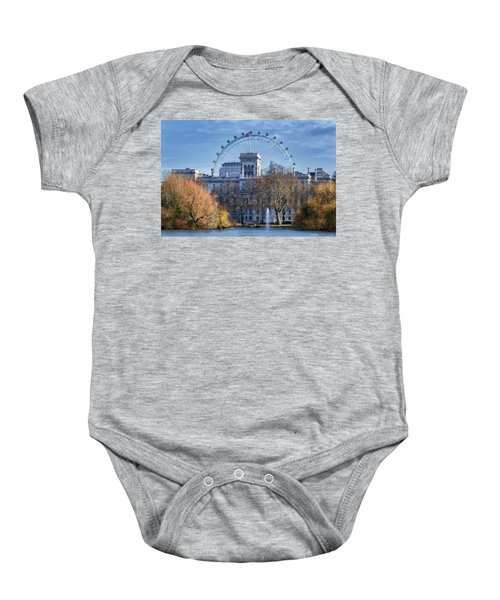 Eyeing The View Baby Onesie