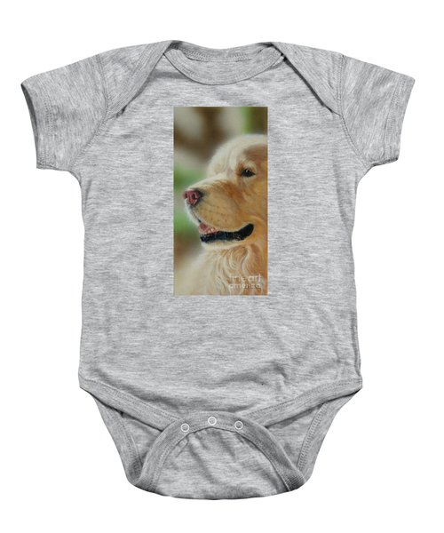 Golden Retriever Baby Onesie