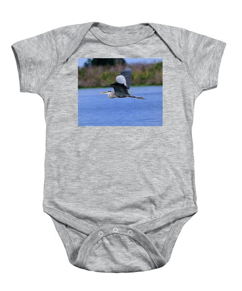 Great Blue Inflight Baby Onesie