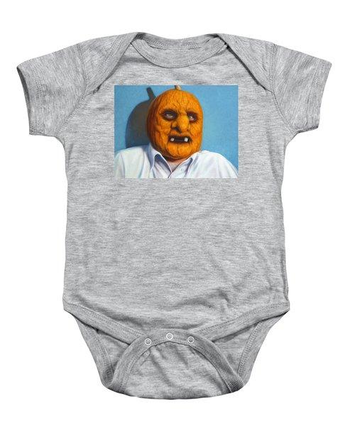 Heavy Vegetable-head Baby Onesie
