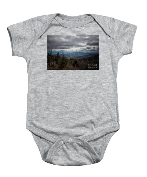 I Can See For Miles Baby Onesie