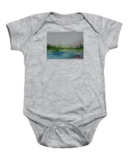 Lake Study 3 Baby Onesie
