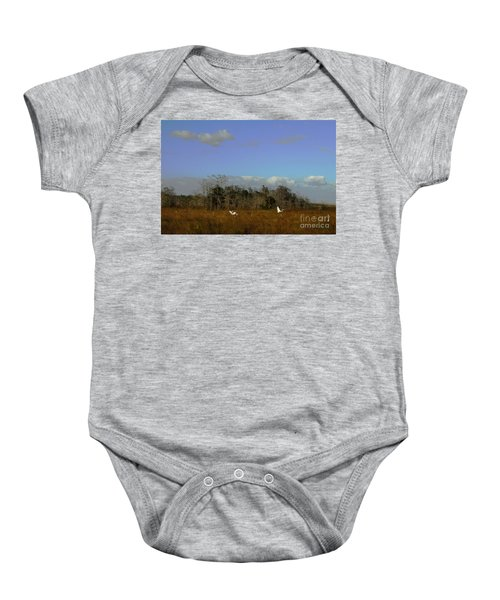 Lifes Field Of Dreams Baby Onesie