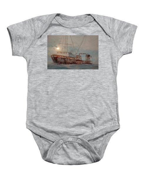 Lost At Sea Baby Onesie