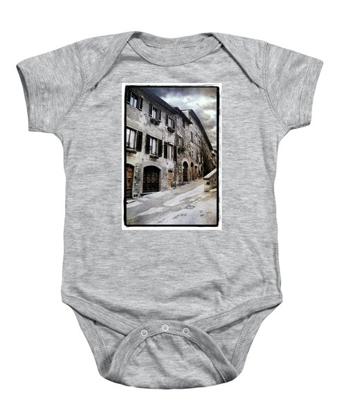 North Italy  Baby Onesie