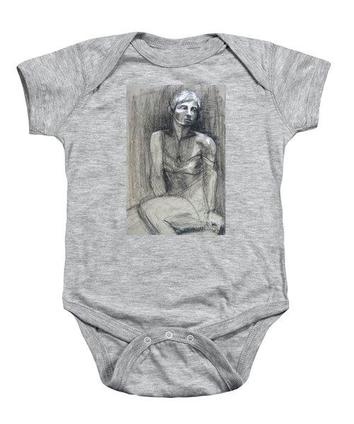 Off The Shoulder Baby Onesie