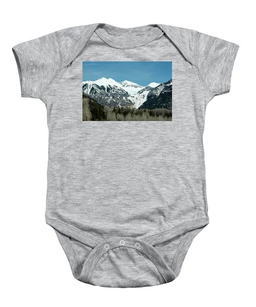 On The Road To Telluride Baby Onesie
