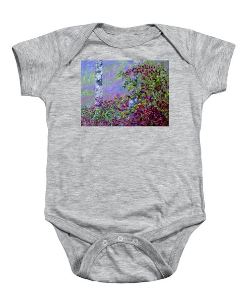 Purple Haze Baby Onesie
