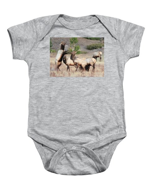 Put Up Your Dukes Baby Onesie