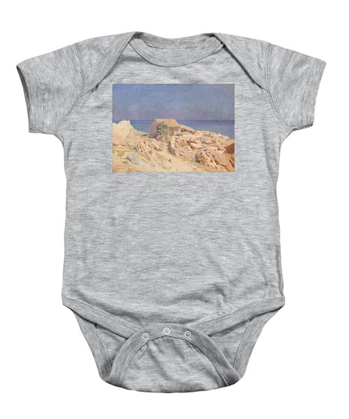 Roussillon Landscape Baby Onesie