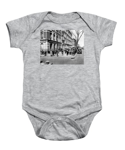 School's Out In Harlem Baby Onesie by Underwood Archives