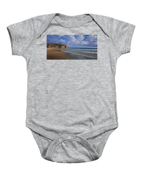 Strands Beach Dana Point Painting Baby Onesie
