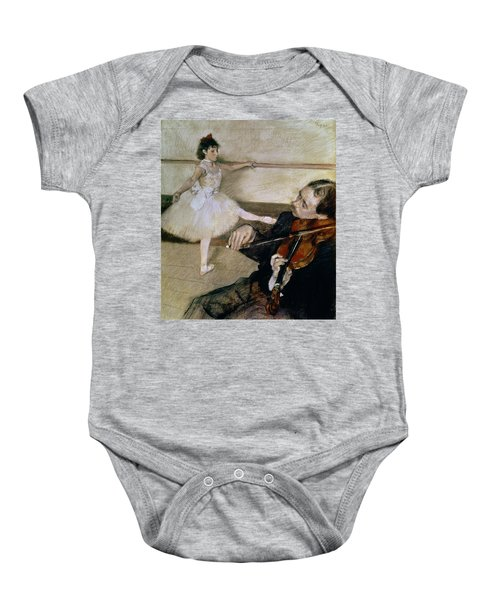 The Dance Lesson Baby Onesie