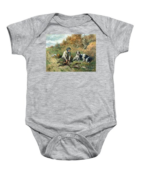 The Day's Bag Baby Onesie