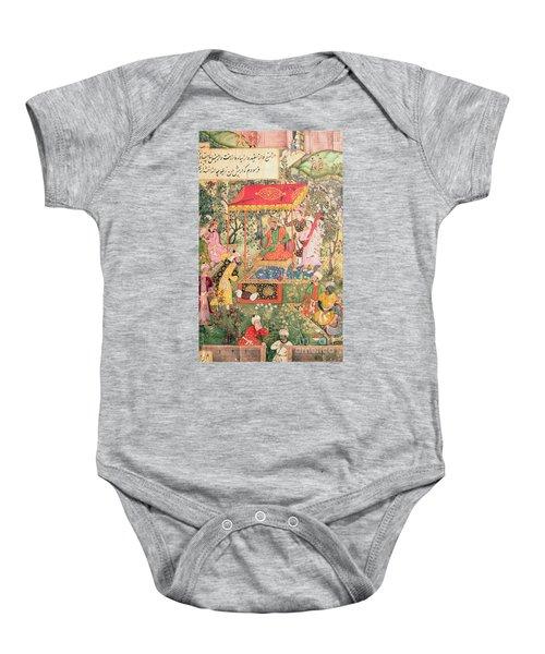 The Mogul Emperor Babur Baby Onesie