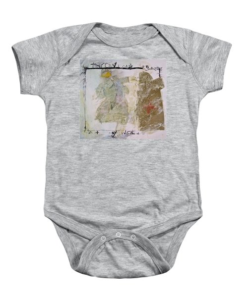 Throwing Stones At My World Baby Onesie