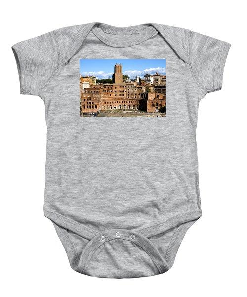 Trajan's Market  Baby Onesie
