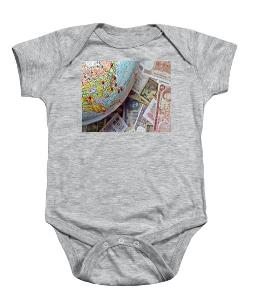Travel In North America And Abroad Baby Onesie