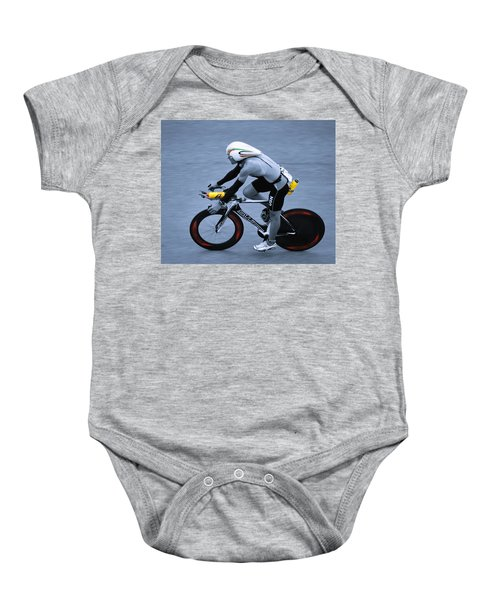 Triathlon Man Baby Onesie