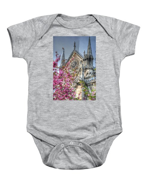 Vibrant Cathedral Baby Onesie