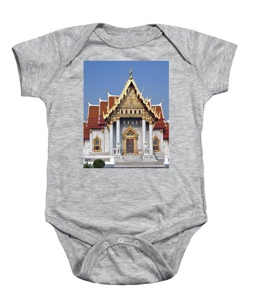 Wat Benchamabophit Ubosot Dthb180 Baby Onesie