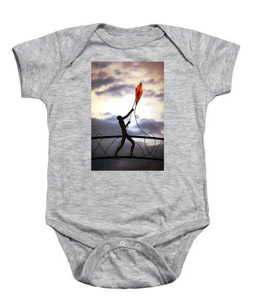 Winchester Kite Baby Onesie