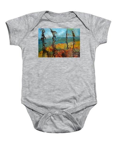 Windswept Pines Baby Onesie