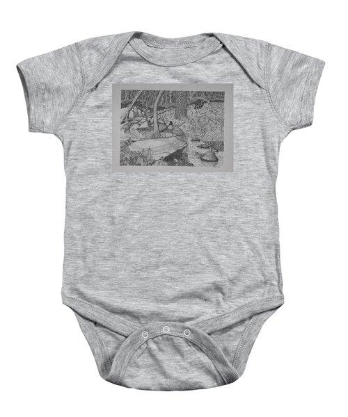 Woodland Stream Baby Onesie