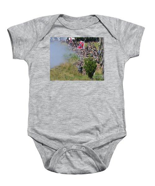 Gettysburg Confederate Infantry 8769c Baby Onesie
