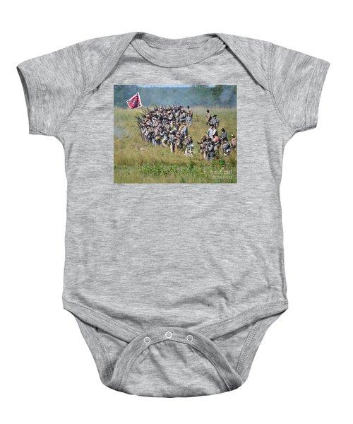 Gettysburg Confederate Infantry 9015c Baby Onesie