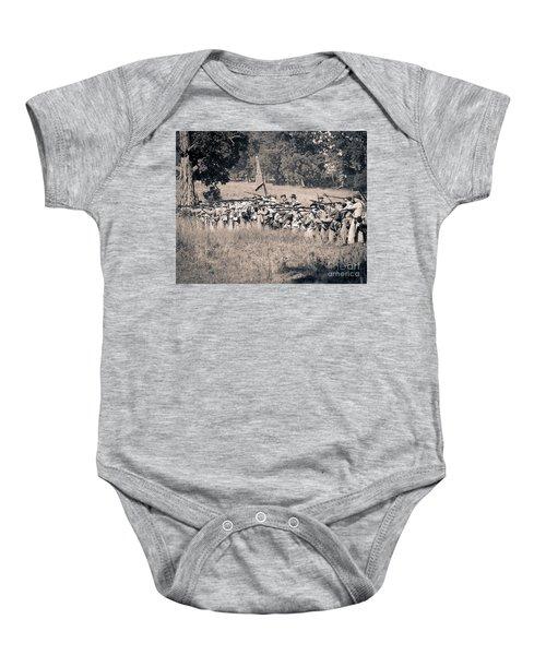 Gettysburg Confederate Infantry 9270s Baby Onesie