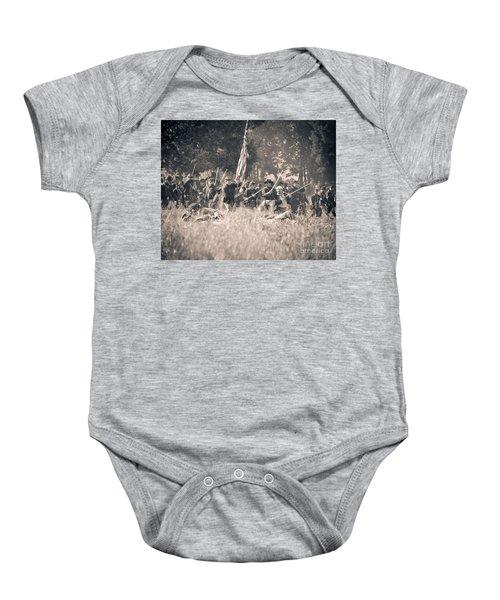 Gettysburg Union Infantry 9348s Baby Onesie