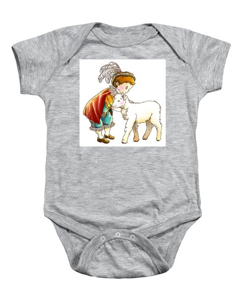 Prince Richard And His New Friend Baby Onesie