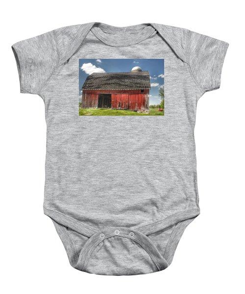 0181 Hollenbeck Road Red II Baby Onesie