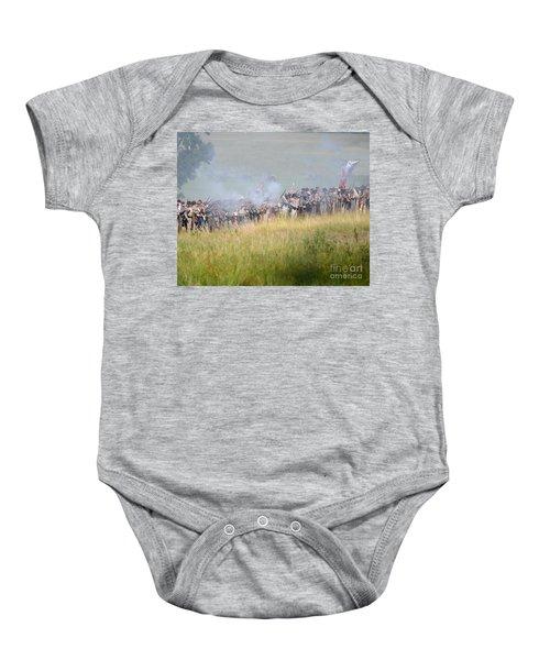 Gettysburg Confederate Infantry 7503c Baby Onesie