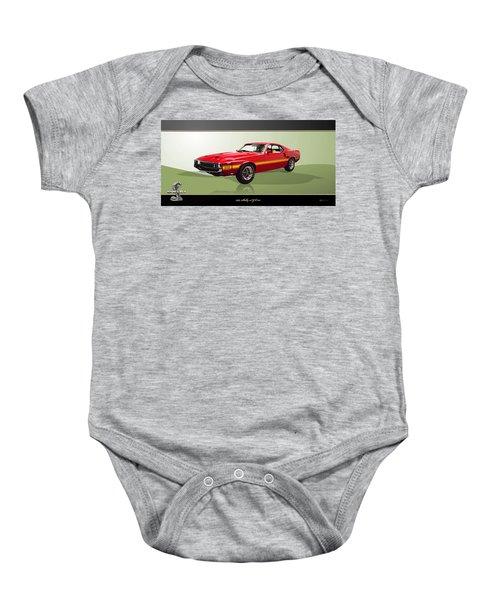 1969 Shelby V8 Gt350  Baby Onesie